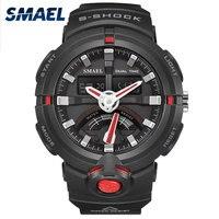 Siyah Kırmızı Saatler Erkek Saat Kol Saati Erkek Spor Izle Relogio Masculino Reloj De Hombre Erkek Saati Relojes Hombre 1637