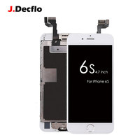 Factory OEM Complete Replacement LCD Assembled Touch Screen Digitizer For IPhone 6s Home Button Front Camera