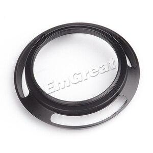 Image 5 - 7 cámaras artesanas parasol de lente de 46mm con ventilación de Metal para 7 artesanos 25mm f1.8 para Sony para lente Leica Canon Nikon negro