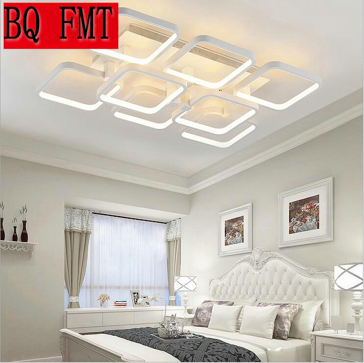 Square Surface Mounted Modern Led Ceiling Lights For Living Room Light Fixture Indoor Home Decorative Lampshade Acrylic In From