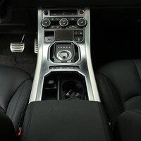Chrome Interior Accessory For Range Rover Evoque 2011 2015 Center Console Panel Trim