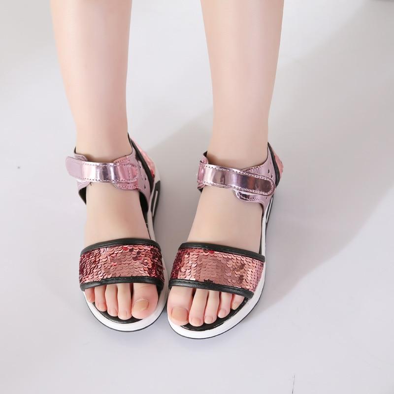 Summer Girls Sandals 2018 New Kid Summer Style Girls Princess - Obuwie dziecięce - Zdjęcie 3
