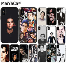 Maiyaca Dylan O'brien Teen Wolf Cool Tpu Black Phone Case Cover Shell Voor Iphone 11 Pro 8 7 66S plus X Xs Max 5S Se Xr Cover(China)