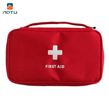 AUTO Outdoor Portable First Aid Emergency Medical Kit Survival Bag Empty Medicine Storage Travel Sport Camping Tool