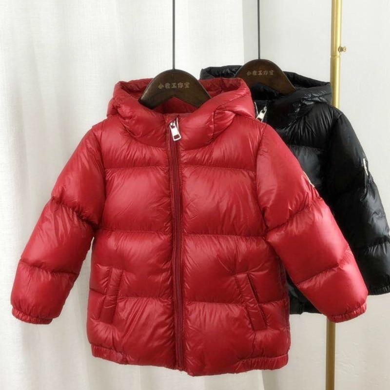 Coat Jacket Outwear Hoodies Kids Winter Children Suits Duck-Down Girls Baby Boys Warm