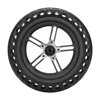 AUTO 8.5 Inch Damping Solid Tyres Hollow Non Pneumatic Wheel Hub And Explosion Proof Tire Set For Xiaomi Mijia M365 Electric