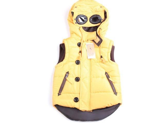 Venta al por menor - otoño invierno con capucha Parkas capa del chaleco para la edad 2-7 niño , niña , niño