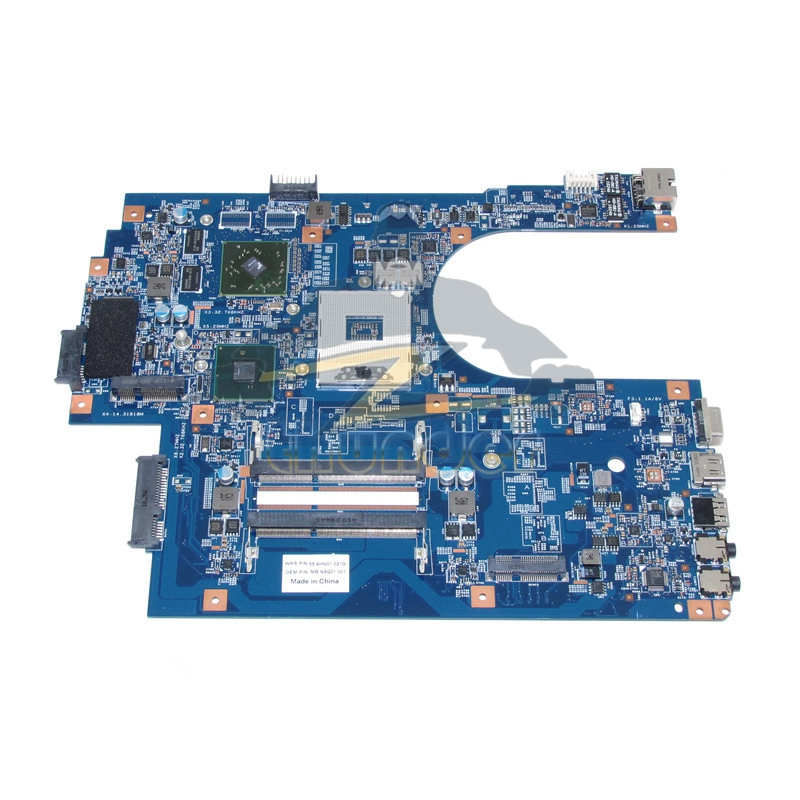 For Acer aspire 7741 7741G Laptop Motherboard MB.N9Q01.001 MBN9Q01001 48.4HN01.011 HM55 DDR3 HD5000 Graphcis Card laptop motherboard fit for acer aspire 3820 3820t notebook pc mainboard hm55 48 4hl01 031 48 4hl01 03m