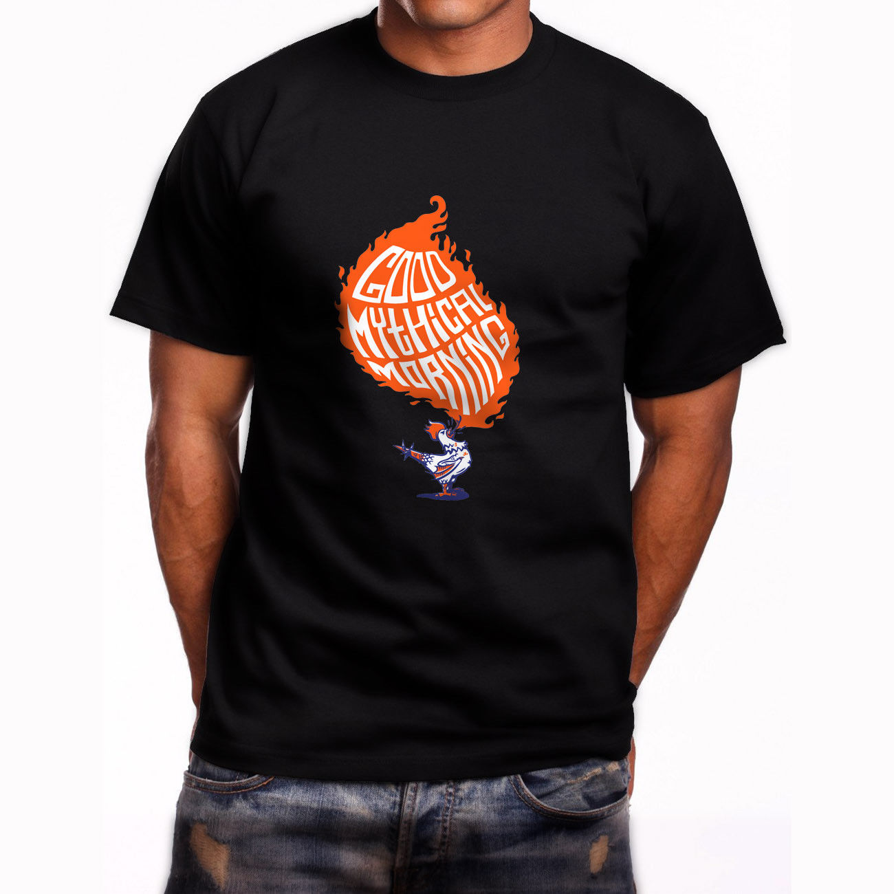 New Good Mythical Morning Short Sleeve Mens Black T-Shirt Size S To 3XL Cheap Price 100 % Cotton Tee Shirts T Shirt