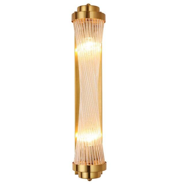 Moderne Vintage Loft Eisen Kunst Wand Lampe Glas Stange Wand Licht Land Syle Ivanowa Leuchte Lampe Leuchte E14 6W led-lampe Schlafzimmer
