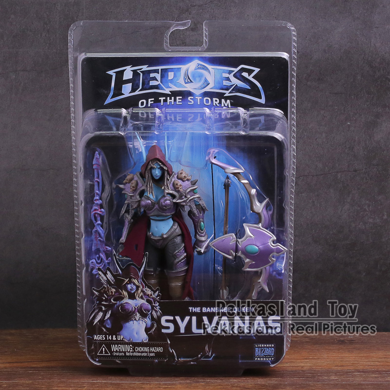 NECA Heroes Of The Storm The Banshee Queen Sylvanas PVC Action Figure Collectible Model ToyNECA Heroes Of The Storm The Banshee Queen Sylvanas PVC Action Figure Collectible Model Toy
