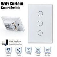 Wifi Curtain Roller Switch Wifi Curtain Switch Timing Wireless WiFi Wifi Electrical Blinds Switch Automation Phone APP Delay
