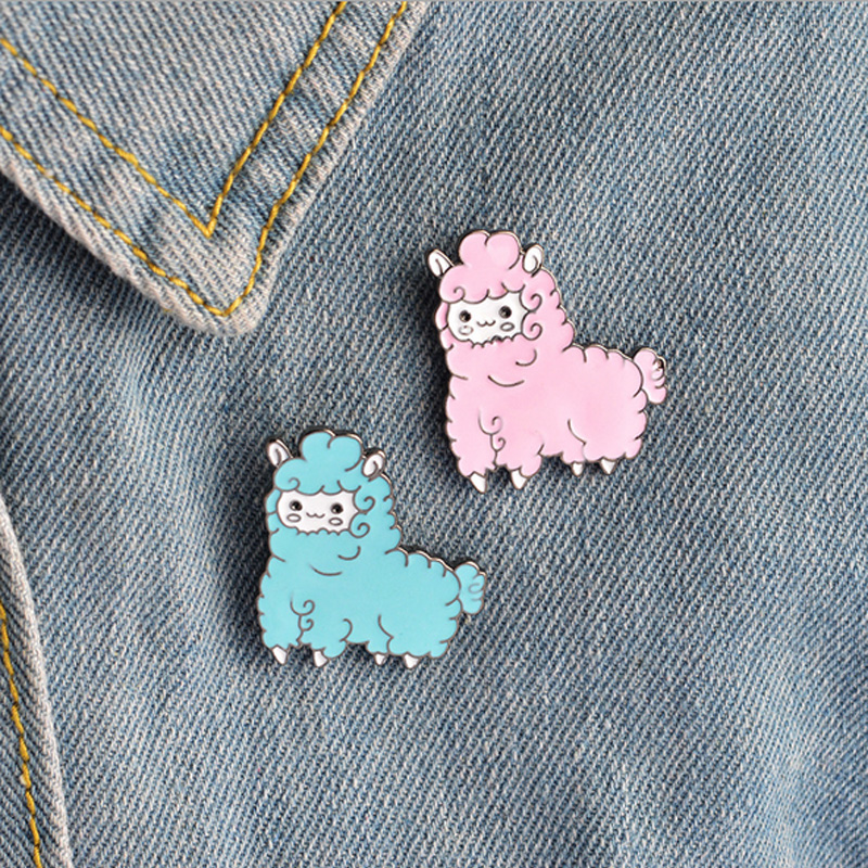 Badges 1 Pcs Cartoon Parrot Black Cat Metal Badge Brooch Button Pins Denim Jacket Pin Jewelry Decoration Badge For Clothes Lapel Pins