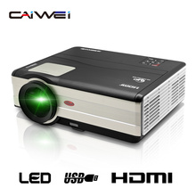 CAIWEI 1280*800 Cine teatro hogar Portátil LCD LED Proyector Android WiFi Full HD 1080 P Digital HDMI TV barato Proyector de Vídeo