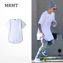Новинка г. MRMT, 7 цветов, футболка с завышенной талией, удлиненная футболка с короткими рукавами, хлопковая футболка