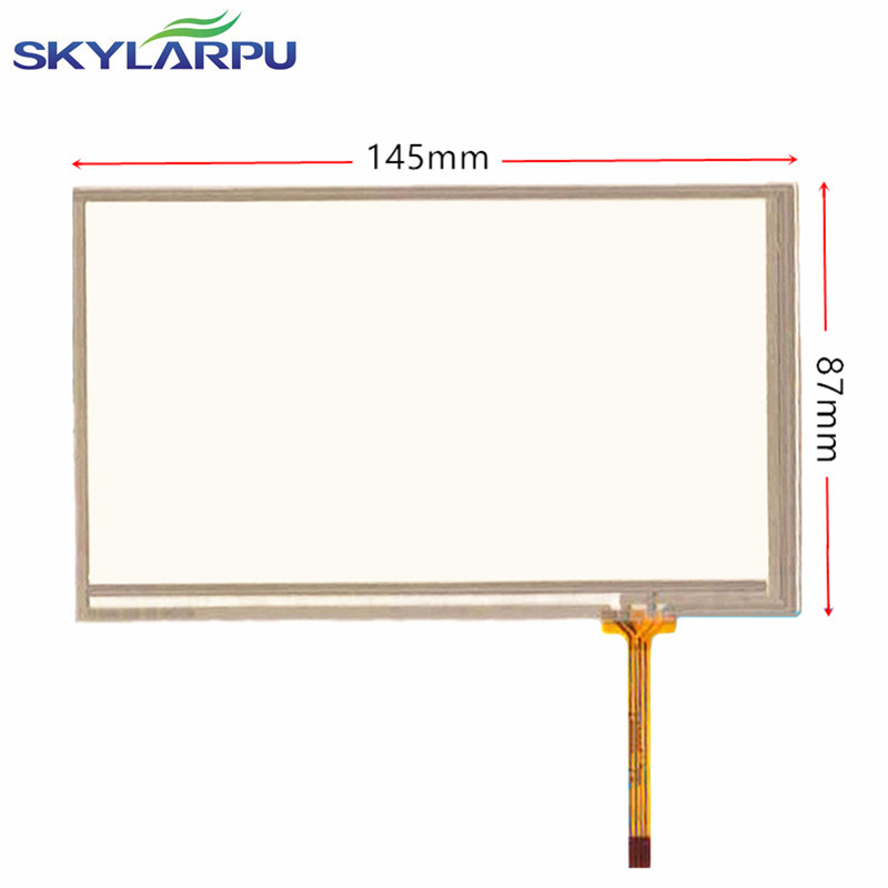 skylarpu 6.2'' inch 6'' inch digitizer touch screen for CAR DVD GPS navigation 145mm*87mm 145*87mm free shipping 7 inch universal touchscreen for car audio car navigation dvd zcr 1502 touch screen digitizer panel 164mm 99mm