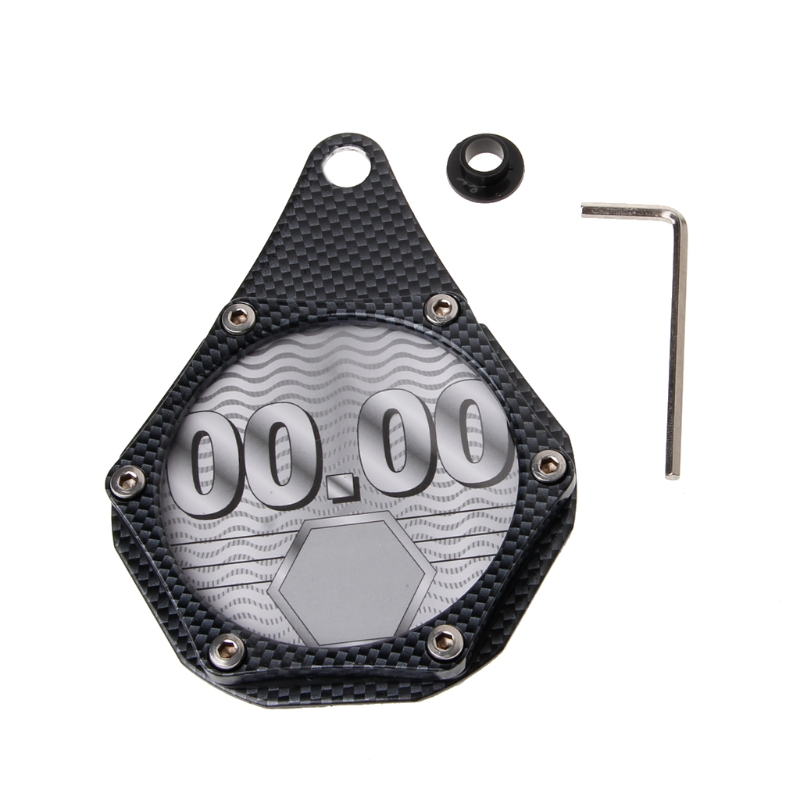 New Waterproof Scooters Quad Bikes Mopeds ATV Motorcycle Tax Disc Plate Holder