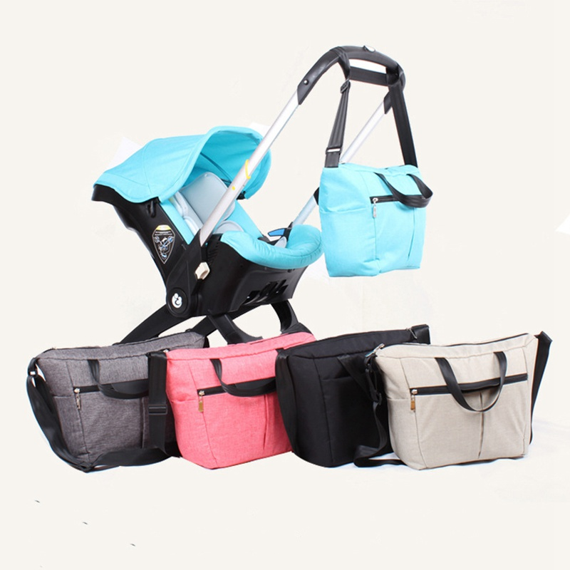 baby stroller nappy bag multicolored baby diaper bag Large-capacity fashionable mothers maternity bag Mommy bagbaby stroller nappy bag multicolored baby diaper bag Large-capacity fashionable mothers maternity bag Mommy bag