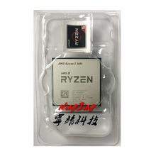 AMD Ryzen 5 3600 R5 3600 3.6 GHz 6 コア Twelve スレッド CPU プロセッサ 7NM 65 ワット L3 = 32 メートル 100 000000031 ソケット AM4 新ないファン
