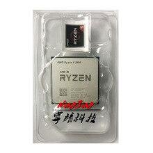 Ryzen Processador AMD 6 Core, 5 3600 R5 3600, 3.6GHz, CPU doze threads, 7NM 65W L3 = 32M, 100 000000031, tomada AM4, novo mas sem ventilador