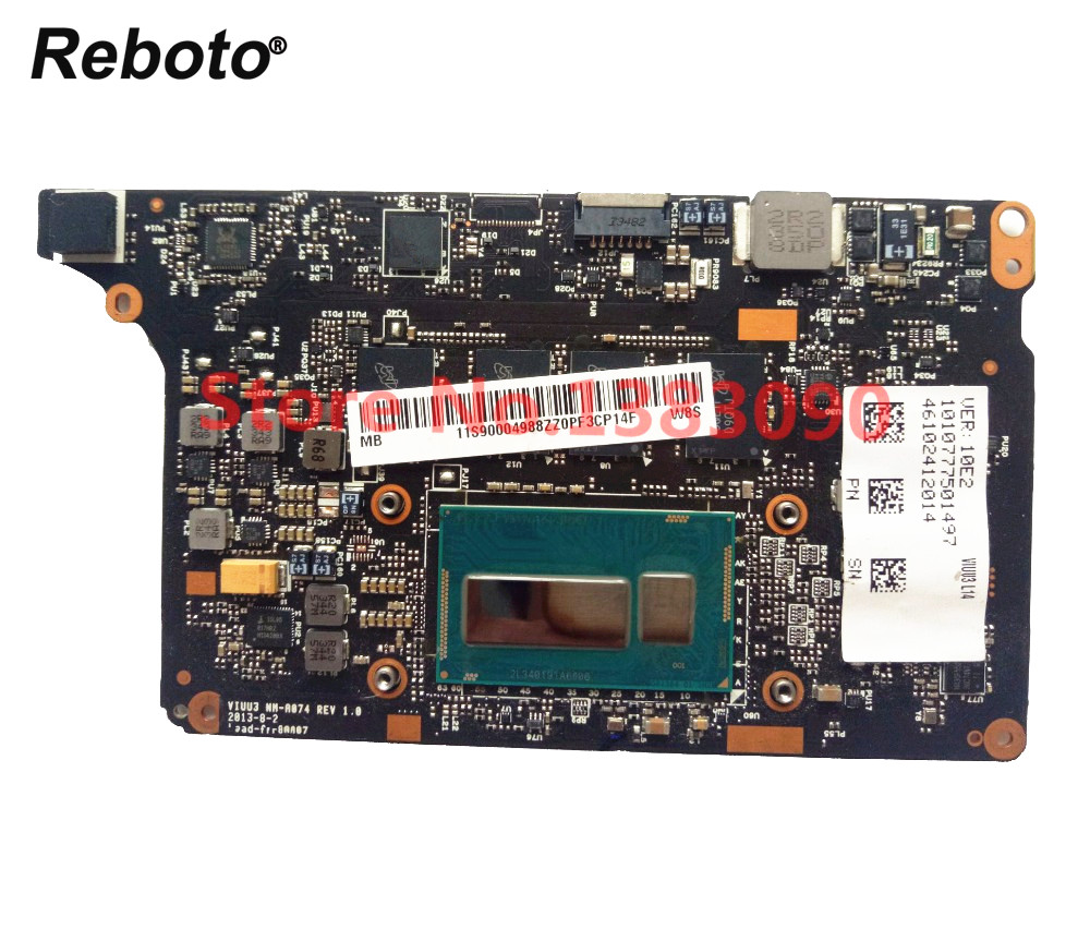 Reboto For Yoga 2 PRO Yoga2 PRO Laptop Motherboard Mainboard NM A074 SR16Z I7 4500U 8GB