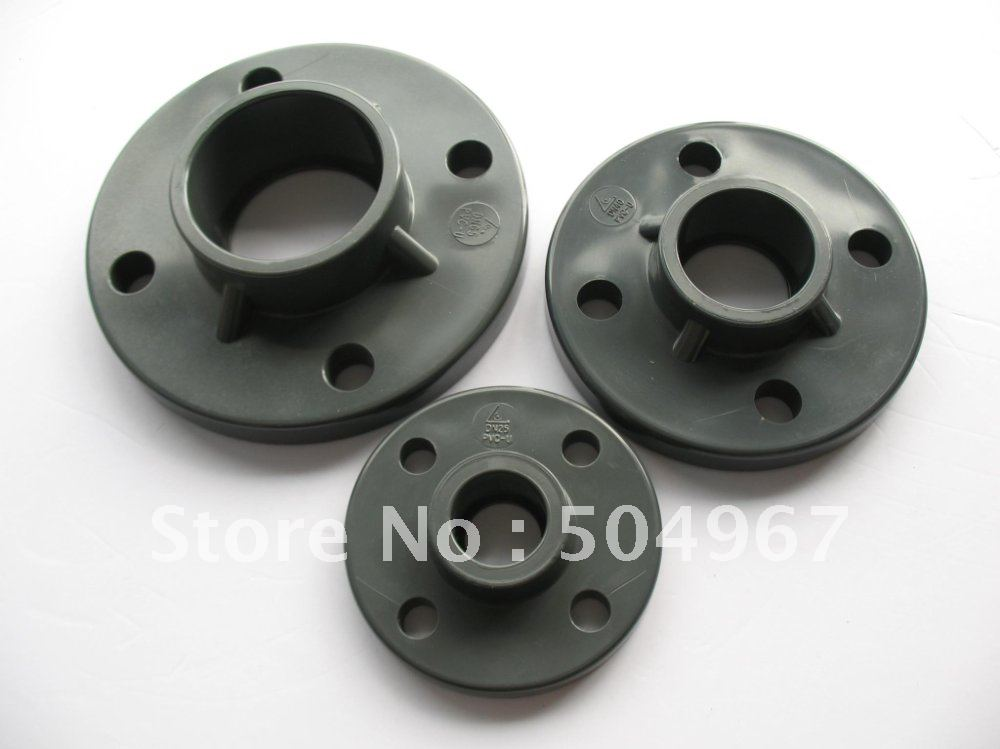 Flanged Pipe Fittings : Thermoplastic pipe fittings upvc one piece flange dn