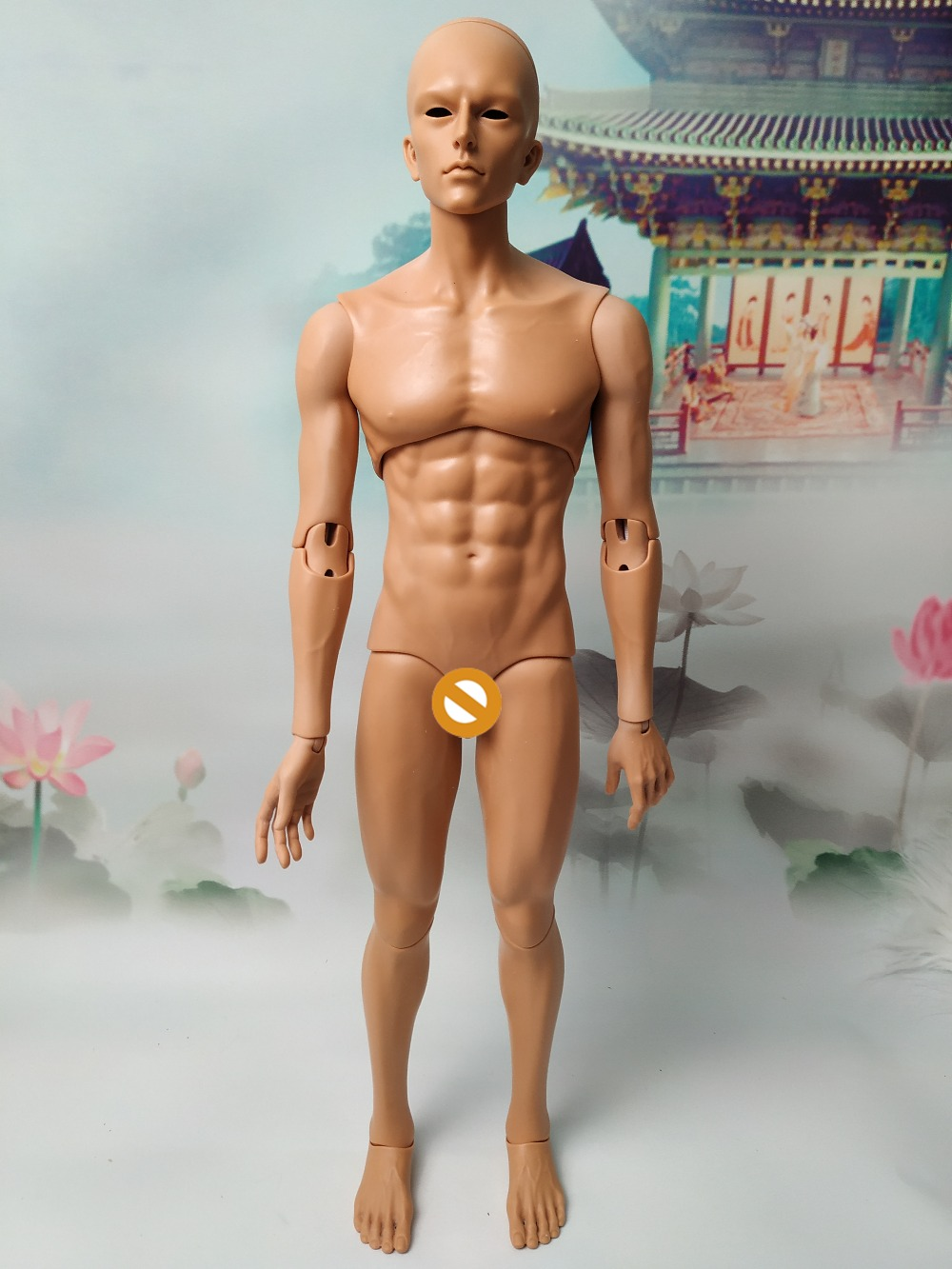 New Arrival Bjd Doll  Dollid Boy High Quality Small 3 Points Joint Dolls Free Care Products For Eyelids