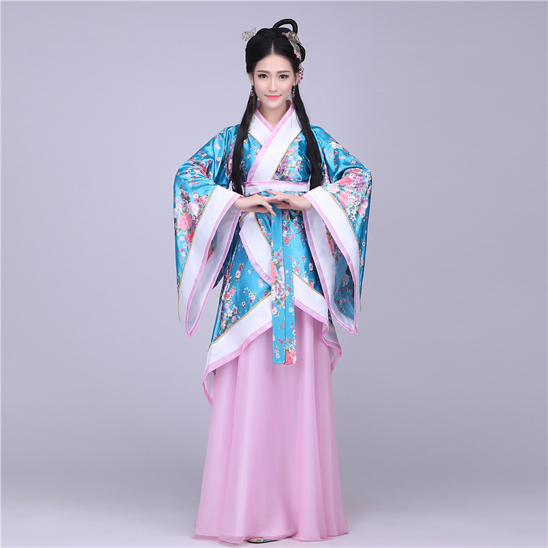 Traditional Chinese Beautiful Dance Hanfu Dress Chinese ...