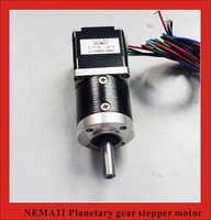 5.18:1 Nema11 Planetary Reducer Stepper Motor length 28mm Nema 11 Geared Stepper Motor
