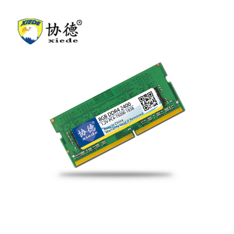 For Games XieDe Memory Ram <font><b>DDR4</b></font> 4GB for Laptop <font><b>Notebook</b></font> Sodimm <font><b>Memoria</b></font> Compatible With DDR 4 2400Mhz 2400 Mhz <font><b>8GB</b></font> 16GB PC4-19200 image