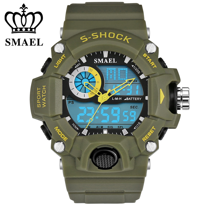 New Brand Watches Men G Style Wateproof S Shock Sport Mens Watches Top Brand Luxury LED Digital-watch Military Army Wristwatches