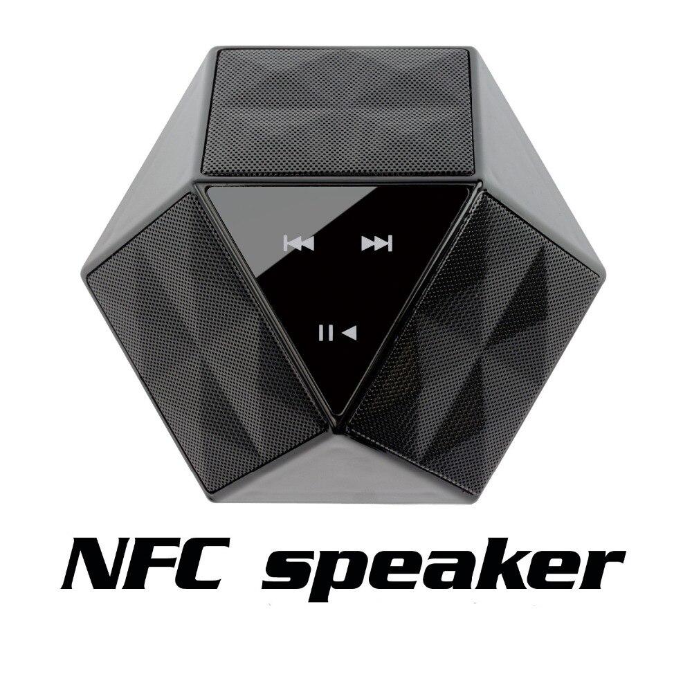 Toque el audio altavoces bluetooth nfc mini hogar al aire libre