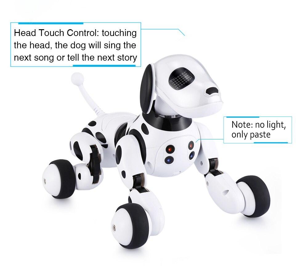 DIMEI 9007A 2.4G télécommande sans fil Smart Robot chien enfants jouet Intelligent parlant Robot chien jouet électronique Pet cadeau d'anniversaire - 5