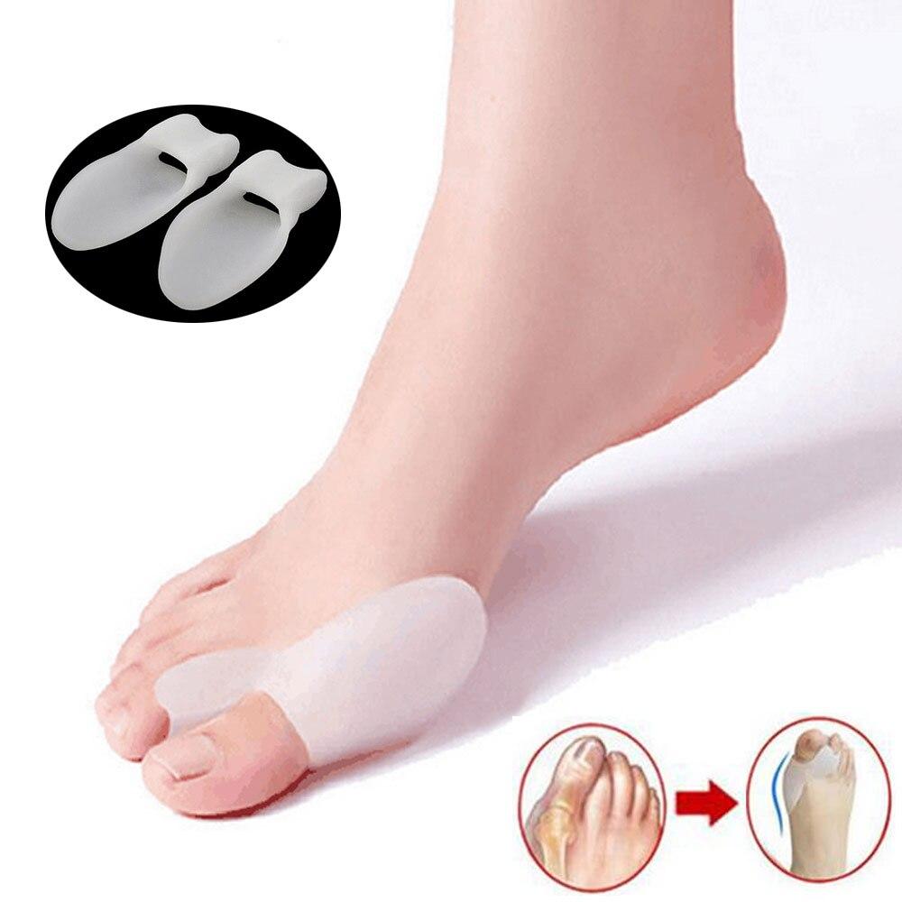 Schönheit & Gesundheit Haut Pflege Werkzeuge 1 Paar 2 Farben Toe Separator Hallux Valgus Zehen Überlappenden Trennung Zehen Rehabilitation Korrektur Orthesen Yoga Bedarfs
