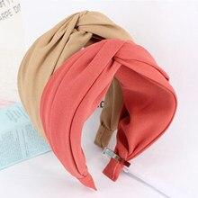 Turban classique pour femmes, bandeau de cheveux en plastique solide, large et latéral, accessoires pour cheveux