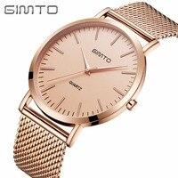 2017 GIMTO Watches Women Luxury Brand Gold Fashion Creative Quartz Ladies Watch Female Wristwatch Clock Relogio