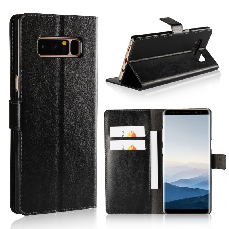Phone PU Leather Case Flip Cases For Samsung Galaxy Note 8 Note8 Wallet Cover Etui Capinha