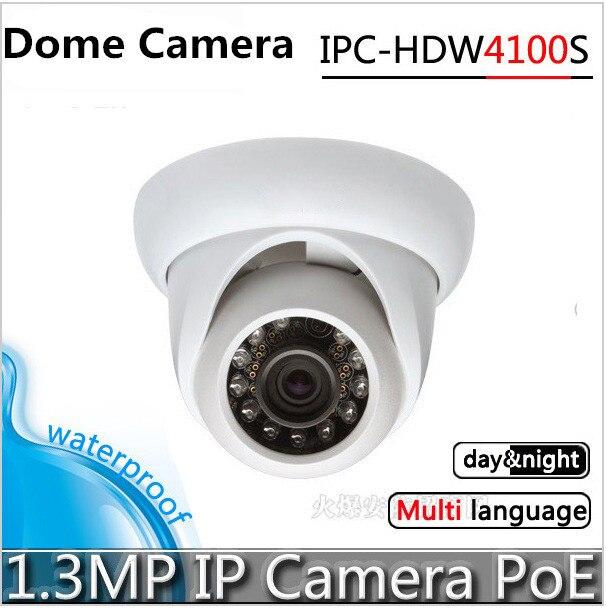 for Dahua IP Camera IPC-HDB4300C 3.6mm IP Security Camera 3MP megapixel IP Camera PoE Dahua Dome Camera Surveillance Camera