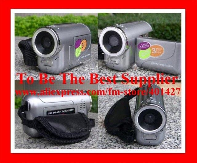 Best Selling Digital Camera + Low cost Camera + High Quality 3.1MP Mini DV Camcorder/Digital Video Camera DV136 FREE