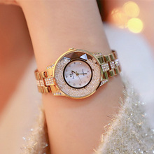 купить Fashion Luxury Lady Watch Woman Rhinestone Wristwatches Crystal Watches Hours Gift Relogios clocks Drop Shipping по цене 1004.13 рублей