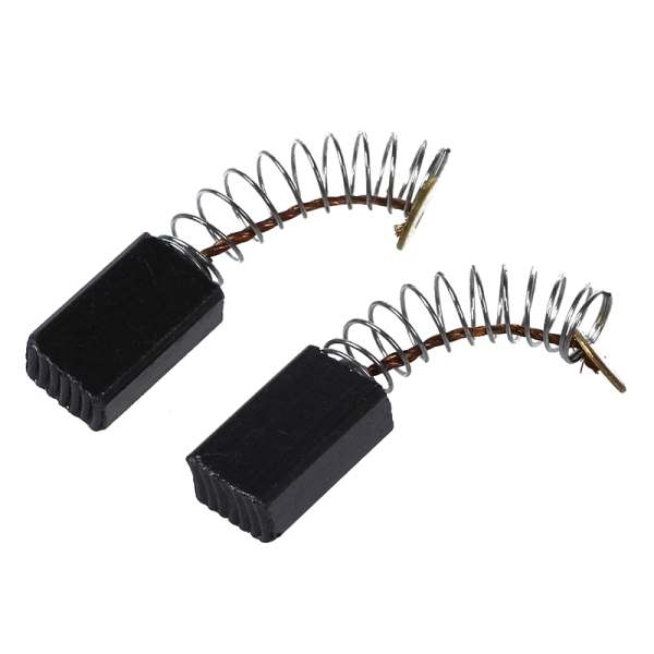 NEW UNIVERSAL 2 X CARBON BRUSHES 6MM x 8MM x 13MM TOOL PARTS