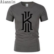 564a69fa0e42 2019 Brand Mens T Shirt Kyrie Irving T shirt 100% Cotton T-Shirt Men