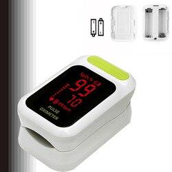 Genaue Klar LED Fingertip Pulsoximeter Blut Sauerstoff SpO2 monitor oximetro monitor oxymetre pulso metros