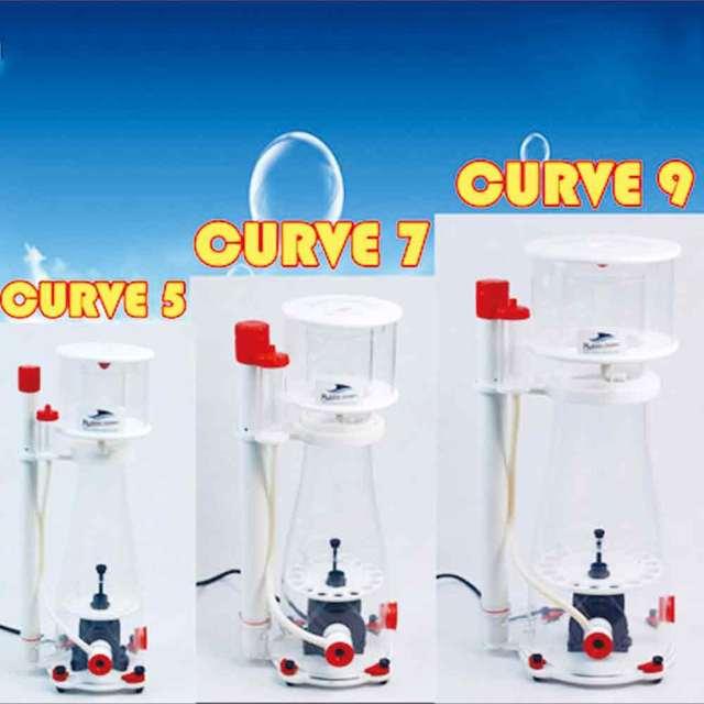 Burbuja Magus Curve A5 300-500L acuario interno proteína Skimmer bomba de sumidero agua salada Marina arrecife aguja rueda Venturi bomba