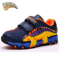 Dinoskulls 2018 Children's Shoes Kids Casual Shoes Dinosaur Cartoon Boys Sneakers Outdoor Sports Running Shoes Trainers 27 34