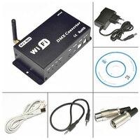 Dc12v المدخلات wifi تحويل dmx تسيطر بواسطة الهاتف الذكي/العروة سادة/تحكم دعوى ل rgb بقيادة قطاع الإضاءة الخ