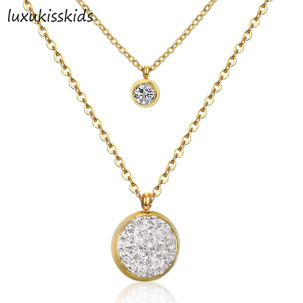 LUXUKISSKIDS New Arrival Jewelry Necklace Romantic Moon