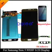 100% Tested Super AMOLED LCD For SAMSUNG Note 5 N920F LCD Display for Samsung Note 5 N920F LCD Screen Touch Digitizer Assembly