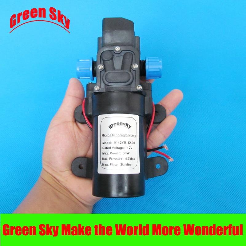 Hot Sale 12V 30W high pressure water pump dc
