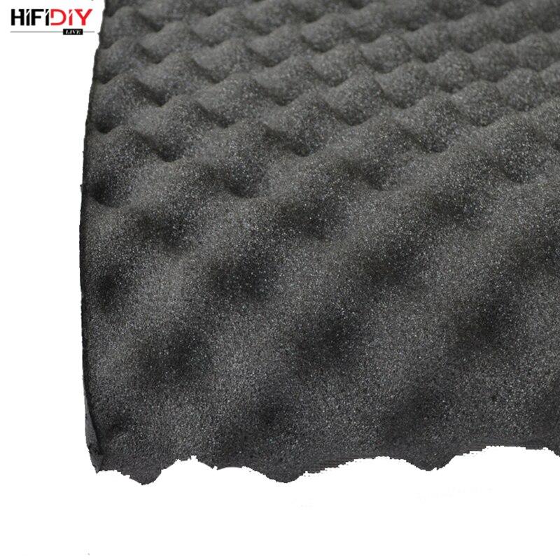 HIFIDIY LIVE 3CM Acoustic Insulation Material Sound-absorbing Cotton Black Foam SoundProofing Sponge Width 1m *length 0.2~1.5m